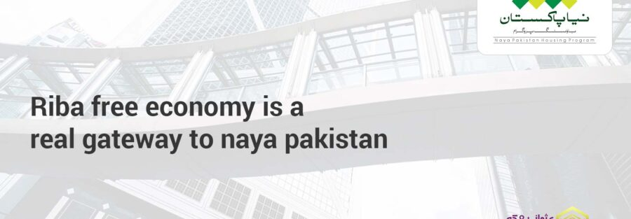 Riba free economy is a real gateway to naya pakistan
